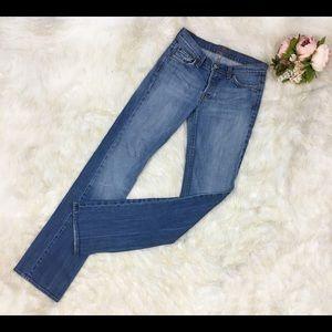 7FAMK Boyfriend Style Jeans